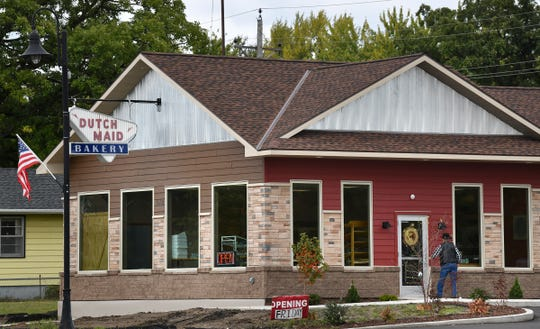 Customers flocked to the new Dutch Maid Bakery location on its forst day in the new location Friday, Sept. 27, in Sauk Rapids.