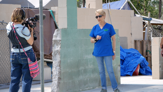 """Blue Tarps"" is an hour-long documentary about the residents of Northwest Florida who feel abandoned six months after Category 5 Hurricane Michael ripped through the state."