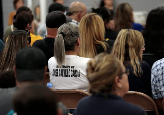 A meeting was held Sept. 26, 2019, at Bonham Elementary School to discuss how the One Fund El Paso shooting victims' money would be distributed.