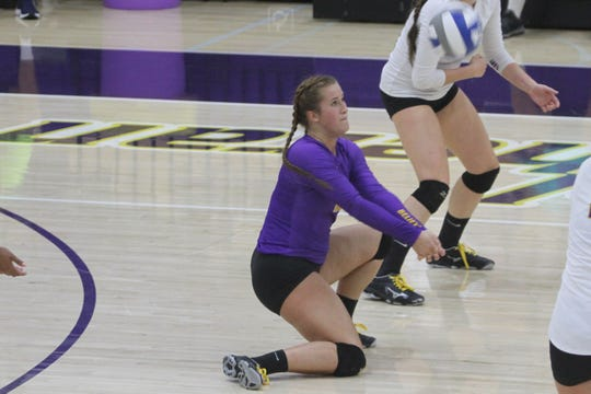 CLU setter Carly Rose Howard, a senior from Portland, Oregon, was named the SCIAC Defensive Player of the Week on Monday.