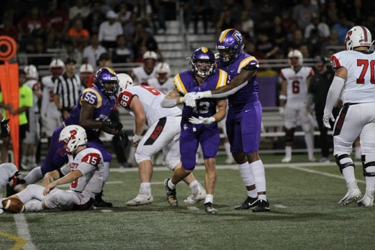 CLU senior linebacker Ethan Pulley was named to D3football.com's national Team of the Week for his three-sack performance against Pacific (Ore.) on Sept. 21.