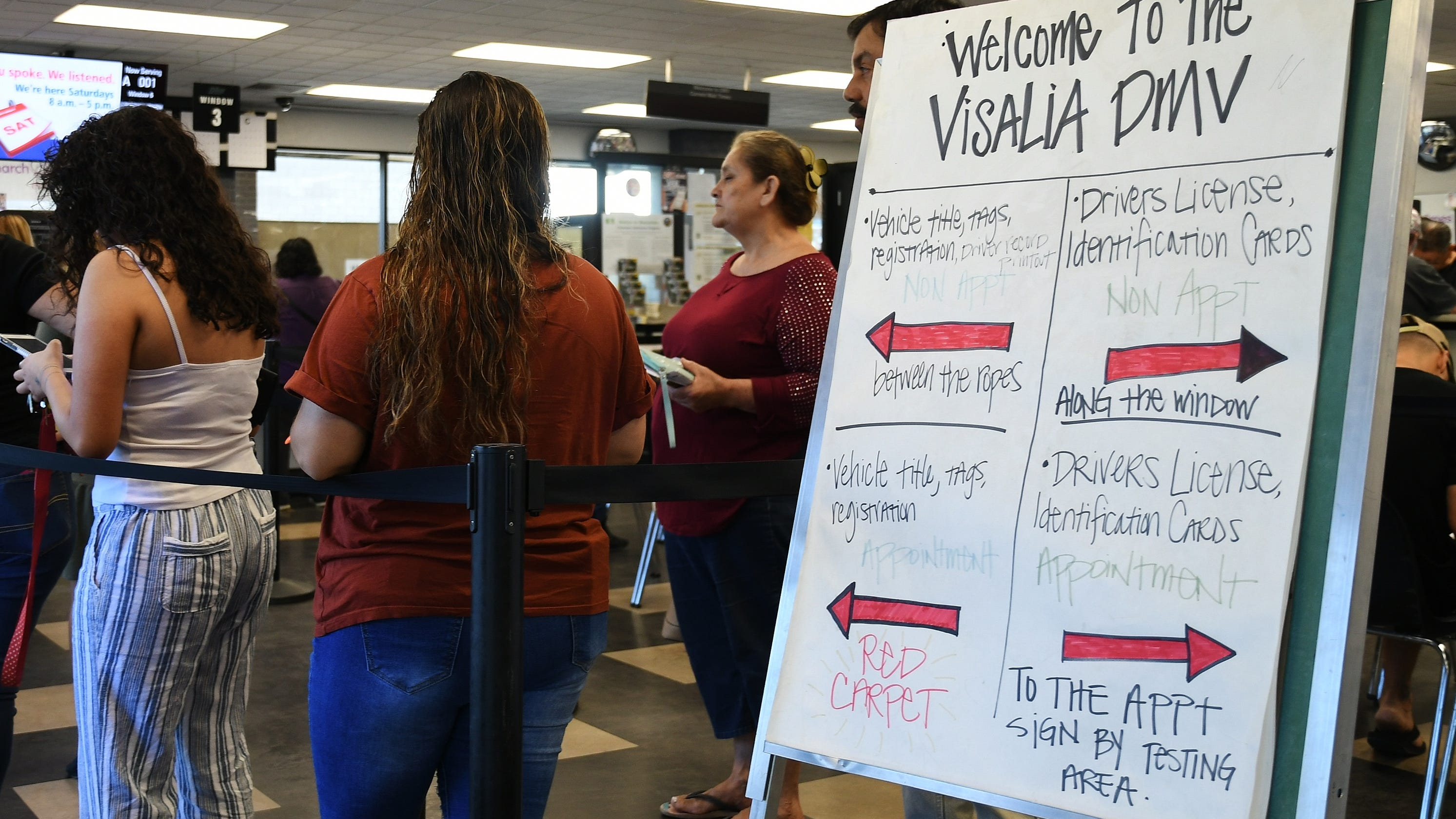 Visalia DMV Office Reopens After Mold Found