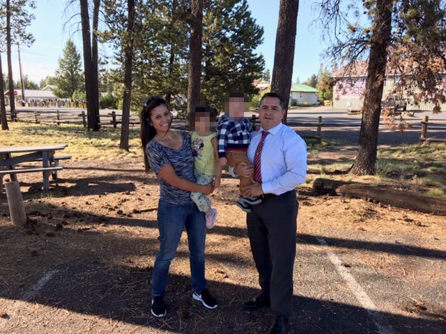 Tulare County District Attorney investigators traveled to Washington to reunited two children with their father.