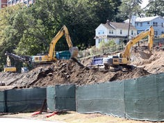 Construction of senior/independent housing at 120 Bloomingdale Road in White Plains Sept. 27, 2019.