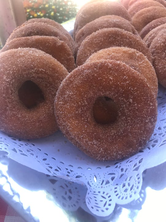 Cider doughnuts from Thompson's Cider Mill.
