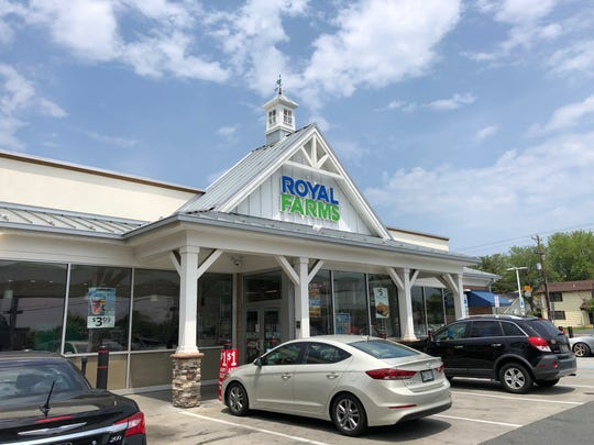An existing Royal Farms on Kirkwood Highway near Millcreek.