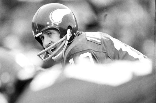 Fran Tarkenton was the NFL MVP in 1975 and played in nine Pro Bowls during his career.