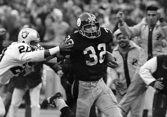 Franco Harris won four Super Bowls during his Hall of Fame career.