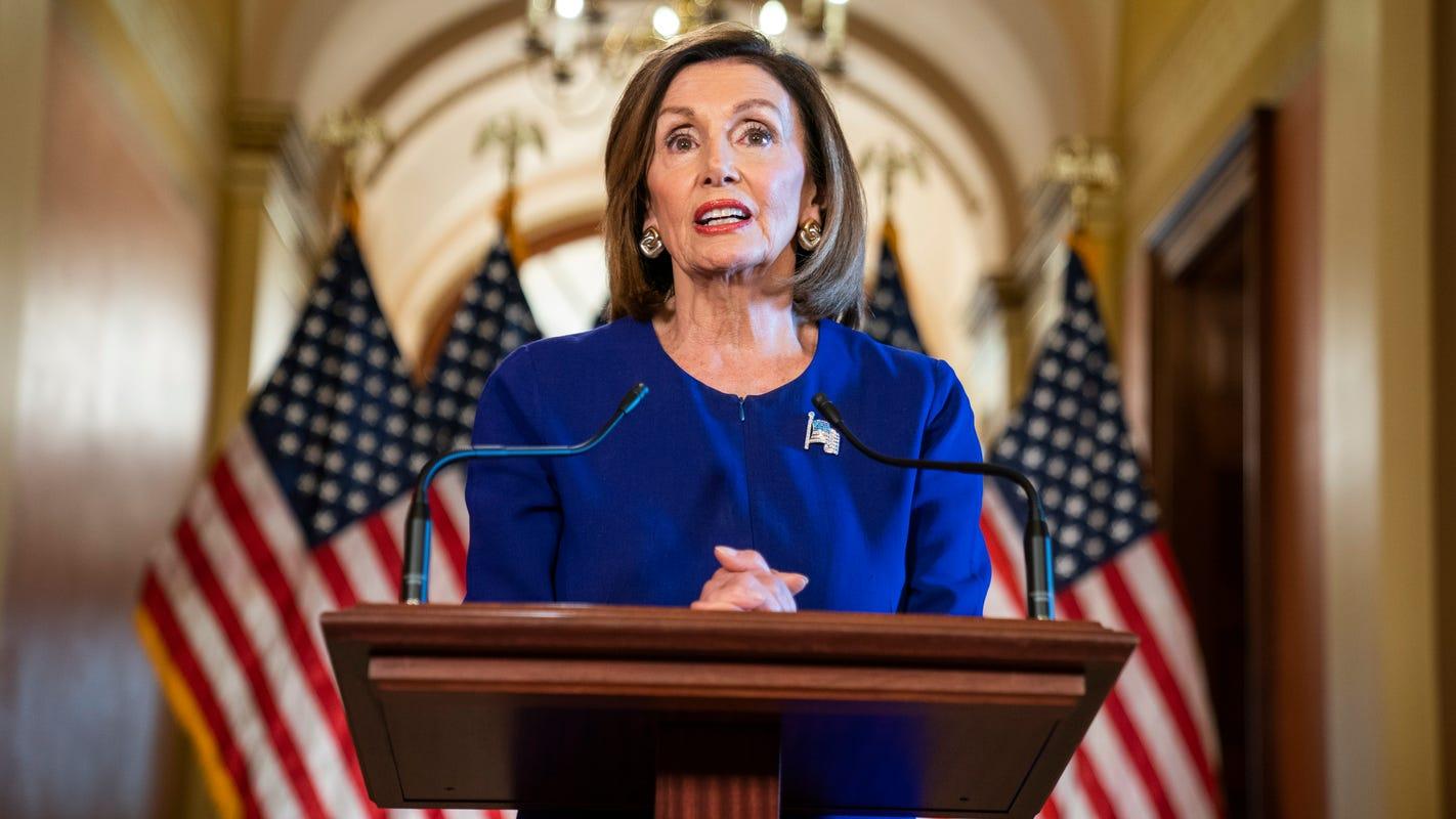 Will Speaker Nancy Pelosi discuss Trump impeachment inquiry at tonight's Greenville event?