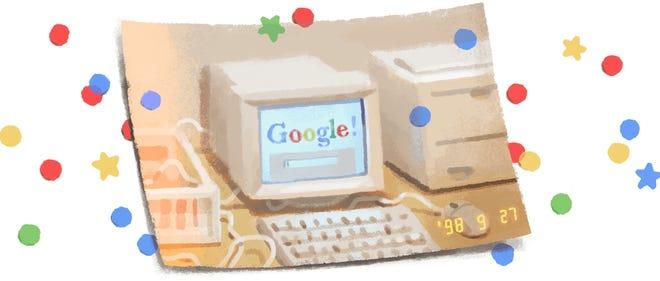 Google celebrates its own 21st birthday.
