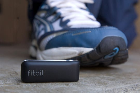 "James Park, entrepreneur, founder and CEO created a device called a Fitbit, a tiny ""personal wellness"" device that tracks the wearer's intensity and duration of exercise and daily activities including calories burned, steps taken, distance covered and even sleep quality.         September 27, 2008."