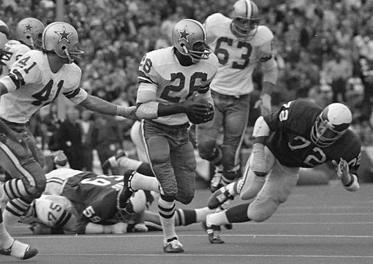 Cornerback Herb Adderley is a Pro Football Hall of Famer and a three-time Super Bowl champion.
