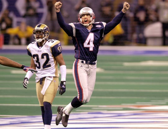 Adam Vinatieri is a four-time Super Bowl champion who holds the record most career points in NFL history.