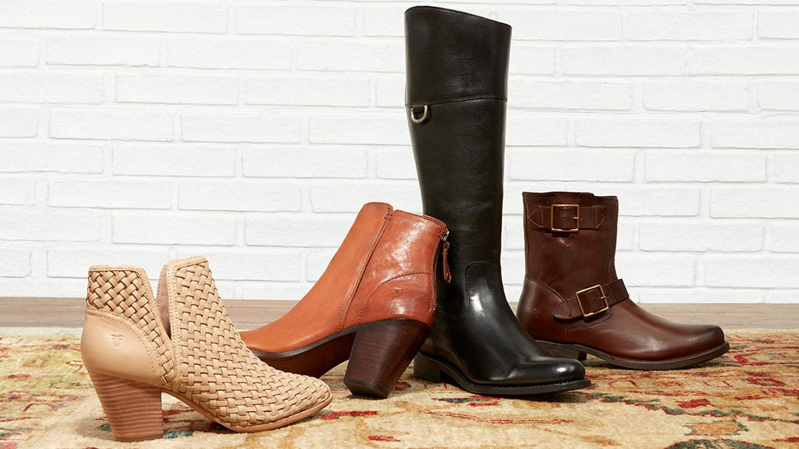 You can get Frye boots for a really low