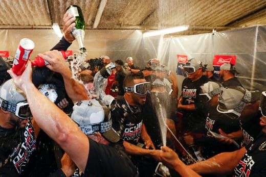 The Twins won their first division title since 2010.