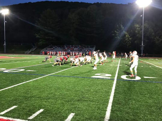 Action from Waverly vs. Chenango Valley, Sept. 27, 2019.