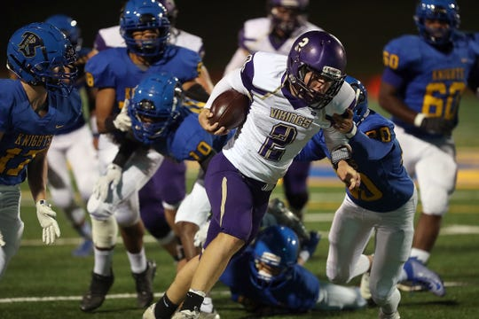 North Kitsap sophomore Colton Bower has been one of the top football players in West Sound this season.