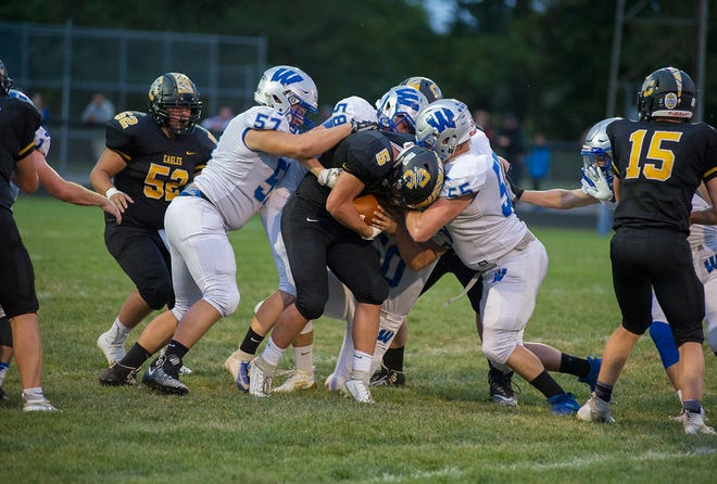 Several tough calls this week across Crawford County football.