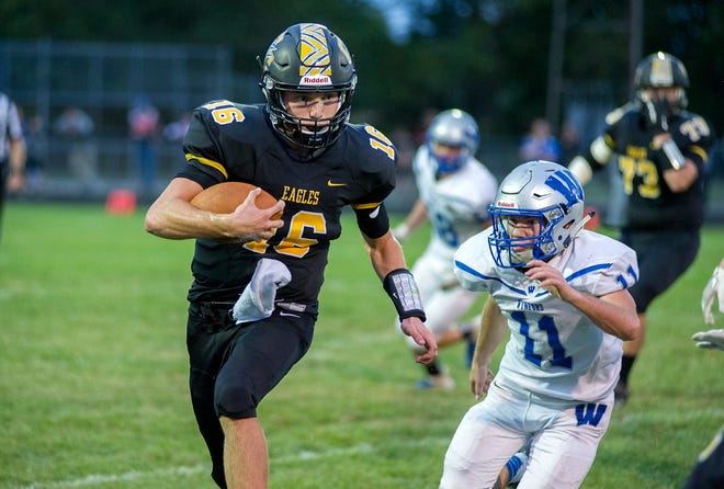 Colonel Crawford's Brock Ritzhaupt will need a big game under center for the Eagles Friday night.