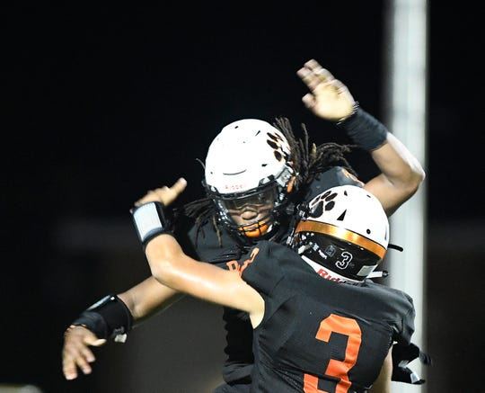 Refugio faces Mart, Friday, Sept. 27, 2019, in Refugio. Both schools are former state champions.