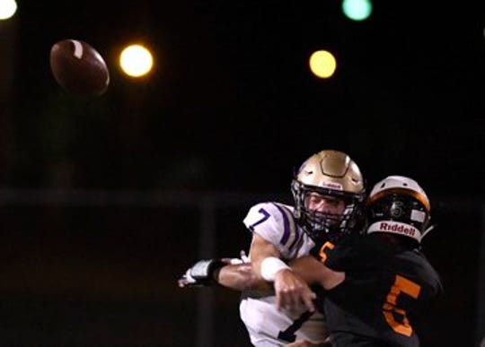Refugio defeated Mart 48-40 in a non-district game on Sept. 27, 2019 in Refugio.