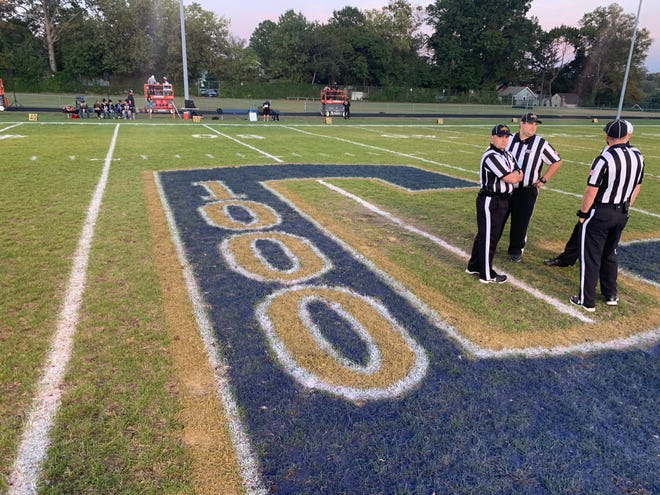 Collingswood football celebrated the program's 1,000th game in its history on Friday. Deptford spoiled the party though with a 32-26 win in overtime.