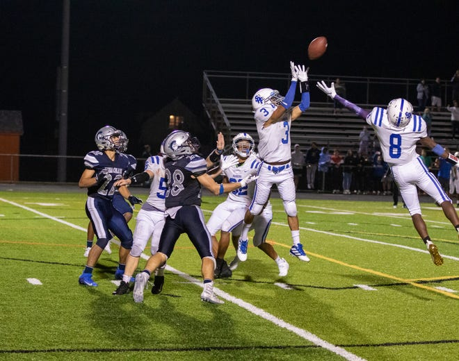 The Scotch Plains-Fanwood and Immaculata high school football teams met Friday night in Somerville.