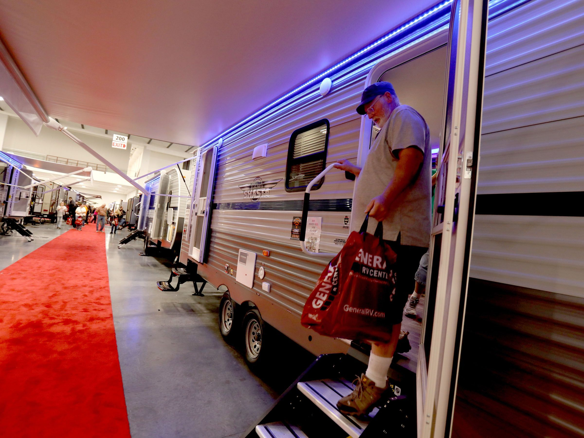 About 400 RVs will be on display this weekend in Novi.