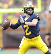 Shea Patterson and the Michigan offense have not been sharp this season.