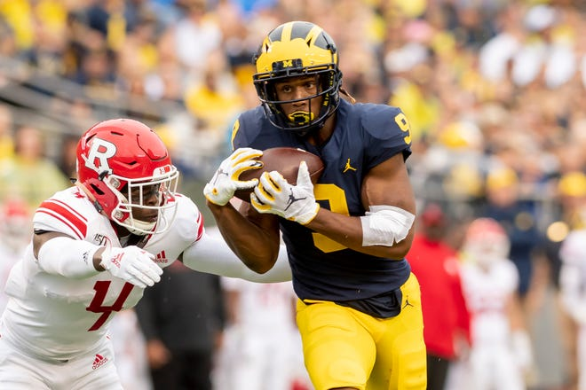 Donovan Peoples-Jones is expected to play a bigger role in Michigan's return game moving forward.
