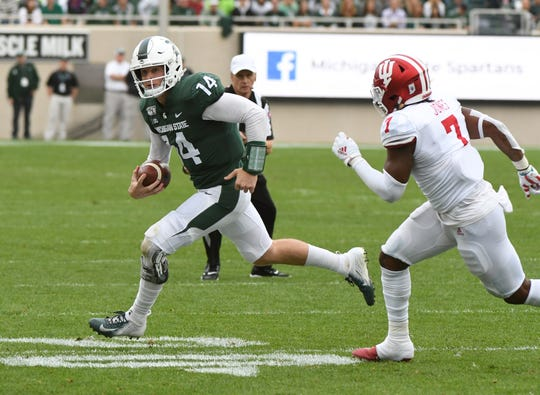 If Brian Lewerke plays like he did on Saturday, the Spartans have a chance against any team they play.