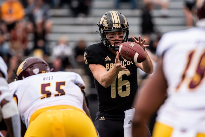 Western Michigan quarterback Jon Wassink has completed 60 percent of his passes for 2,273 yards and 16 TDs with seven interceptions.