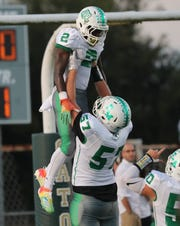 Island Coast takes on Fort Myers in a high school football matchup on Friday, September 27, 2019, at Island Coast High School in Cape Coral.