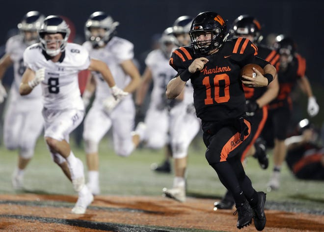 West De Pere quarterback Josh Blount was the offensive player of the year in the Bay Conference last season.
