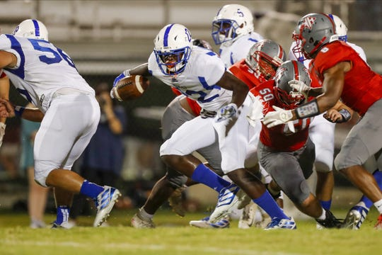 Woodmont improved to 4-1 with its 64-13 victory over Wade Hampton Friday night at Wade Hampton High School.