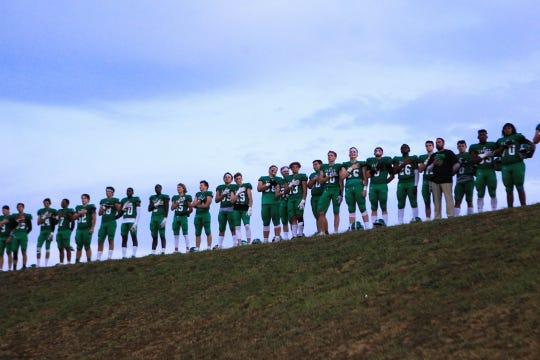 Easley High School hosted J.L. Mann High School in Upstate SC high school football week 5, Friday, Sept. 27, 2019.