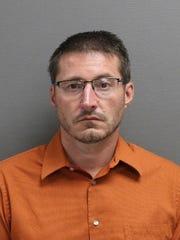 Joseph Matthew McDunn, 44, arrested on 9/18/19.