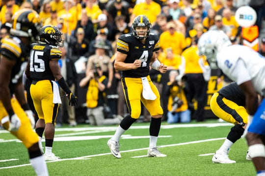 Nate Stanley has the Iowa offense humming this season, avoiding negative plays and capitalizing each time it's reached the red zone. It will take that kind of performance again Saturday to win at Michigan.