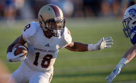 Gabe Wright is a big play waiting to happen for Brebeuf Jesuit.