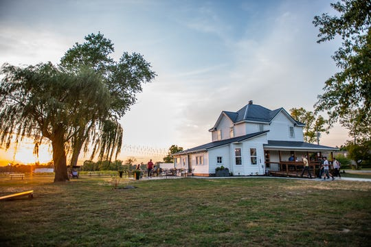Spencer Farm Winery is set to open on Oct. 1, 2019, in Noblesville.