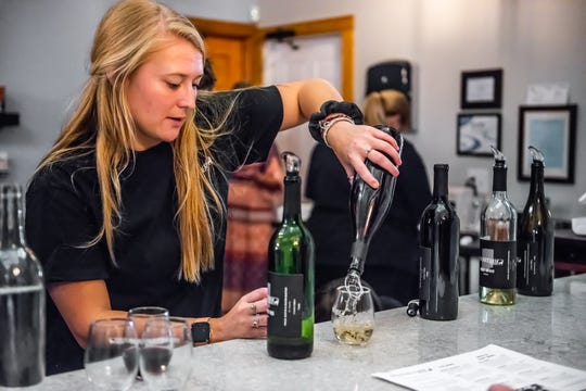 Spencer Farm in Noblesville, Indiana, offers guided tastings. The winery is set to open to the public Oct. 1, 2019.