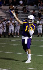 Bloom-Carroll senior quarterback Otto Kuhns is the 2019 Eagle-Gazette Co-Offensive Player of the Year.