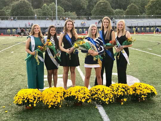 Members of the Lancaster High School Homecoming Court.