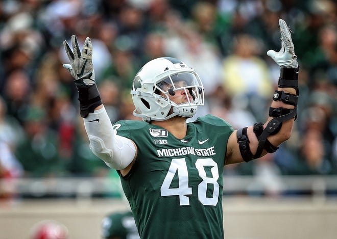 Michigan State redshirt senior defensive end Kenny Willekes has risen from a walk-on to a three-time All-Big Ten performer.