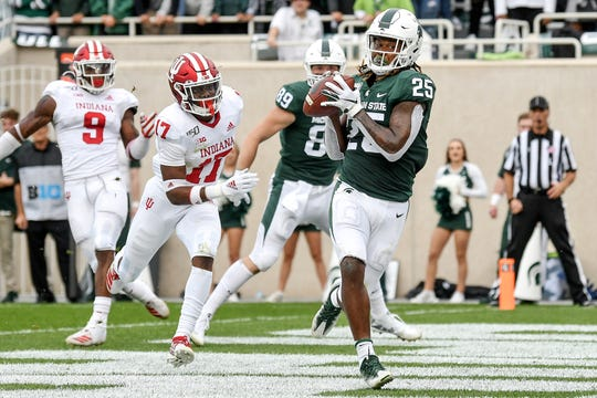 MSU's Darrell Stewart is hoping to be selected in this weekend's NFL draft, though he isn't expected to be.