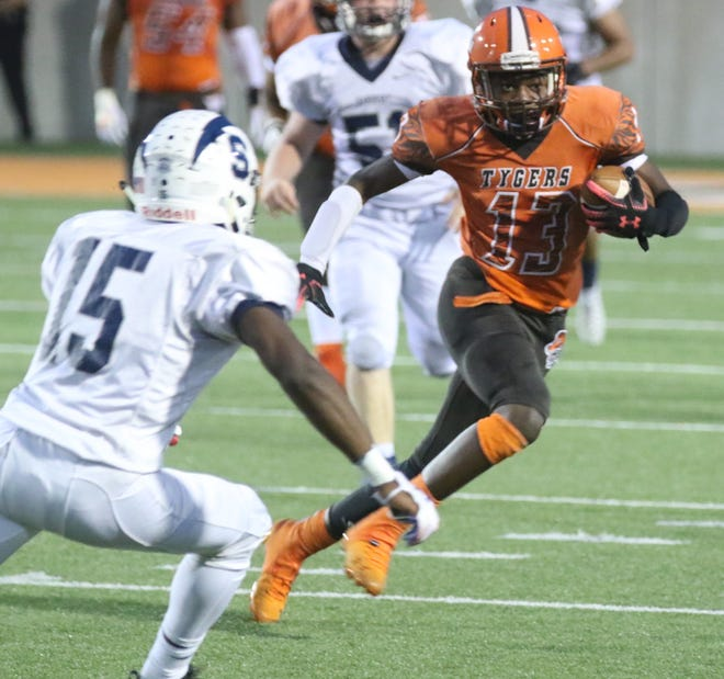 Mansfield Senior's Aveon Grose leads a talented underclassmen group of Tygers who have made an impact in 2019.