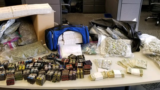 A Sept. 25 raid at a Genoa City home yielded THC cartridges, THC edibles, THC wax, hashish, marijuana and cash.