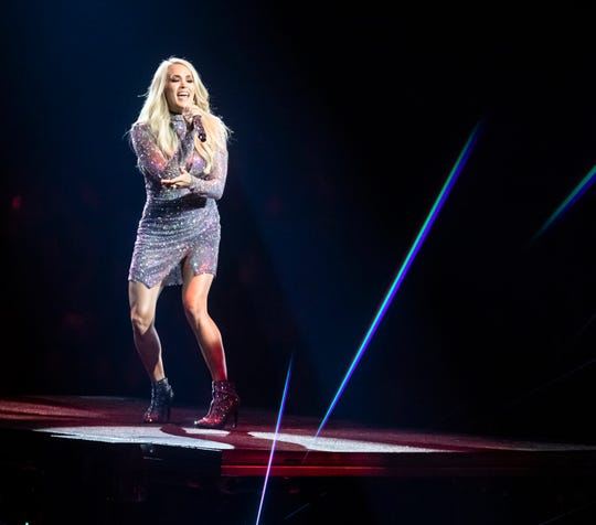 Carrie Underwood plays FedExForum on Wednesday.