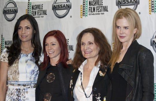 Nicole Kidman, right, at the 2012 Nashville Film Festival, along with Famke Janssen, left, Carrie Preston and Beth Grant.