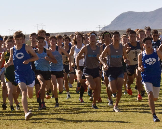 Local area high school boys teams participated Saturday morning at the Oñate cross-country meet held at Oñate High School.
